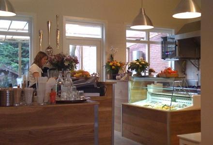 kek amsterdam - interior and open kitchen