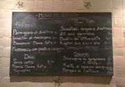 trattoria donna sofia - menu board