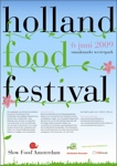 holland food festival - flyer