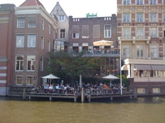 cafe de jaren amsterdam - terrace