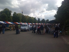pure markt amsterdam - stalls