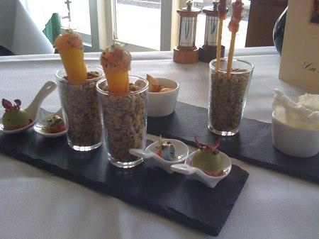 restaurant la rive amsterdam - amuses