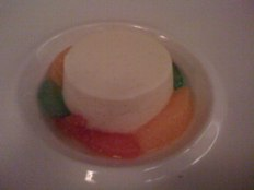 blauw aan de wal amsterdam - flan with candied fruit