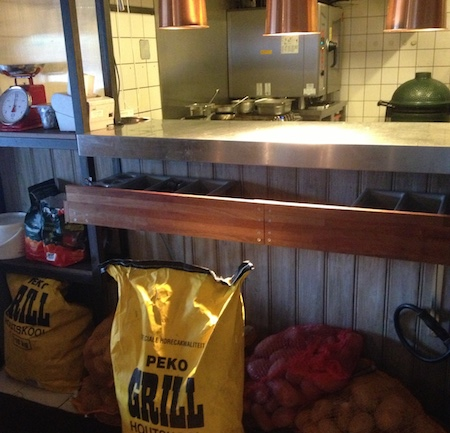 fier kitchen and charcoal